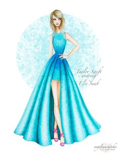 Taylor Swift 57th Grammy Awards- Updated by angelaaasketches