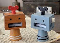鉛筆削りロボ concombre Robot(コンコンブルロボット)