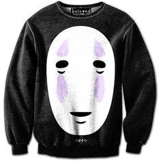 No Face Sweatshirt. perfect