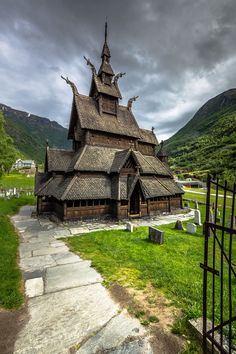 Welcome to Borgund Stave Church, Norway