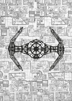 Rust the fort blueprint rust and creativity tie tieadvanced starwars star wars blueprints malvernweather Gallery