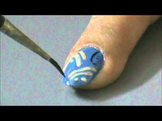 EASY nail designs for short nails - Nail Art For Beginners - nail design- home nail art tutorial