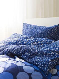 As cores também nos dão conforto. E se dormíssemos num mar de azul?