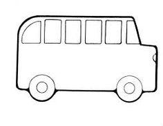 Transportation Coloring Page: School Bus | Pre-K | Pinterest ...