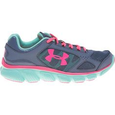 Image for Under Armour® Girls' Micro G™ Assert V Running Shoes from Academy