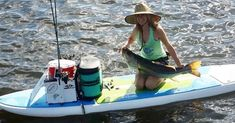 5 Tips to Catch Big Fish from a Standup Paddleboard [With Bri Andrassy] Sup Fishing, Best Fishing, Saltwater Fishing, Fish Stand, Stand Up, Fishing Tournaments, Offshore Wind, Standup Paddle Board, Fishing Pictures