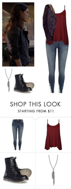 """""""Hayley Marshall - the originals"""" by shadyannon ❤ liked on Polyvore featuring River Island, WearAll and Sheryl Lowe"""
