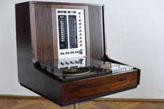 Rosita Luxus Grundig Record Player & Radio Philips Hifi System 70s Vtg Brionvega | eBay