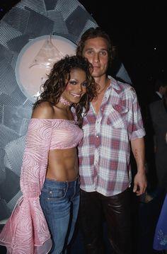 Janet Jackson And Matthew McConaughey   GRAMMY.com