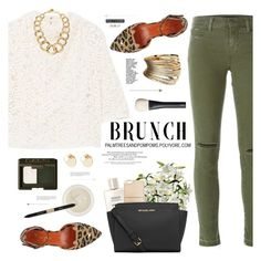 """Mother's Day Brunch Goals"" by palmtreesandpompoms ❤ liked on Polyvore featuring J Brand, MANGO, LSA International, Miss Selfridge, NARS Cosmetics, RAHUA, Chanel, MICHAEL Michael Kors, Witchery and Estée Lauder"