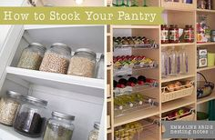 Despite the intro paragraph, a well stocked pantry isn't just for those who are married.  There are a lot of good tips here though-- definitely worth a read.