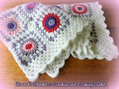 sunshine and a sewing basket: Hannah's Blanket A pretty variation.  Includes links and directions.