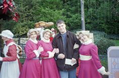 The triplets, as they appeared in Disneyland Paris during the early 2000's