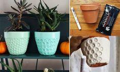 Foto: Reinventarsi il vaso per il proprio terrazzo#arte del fai da te