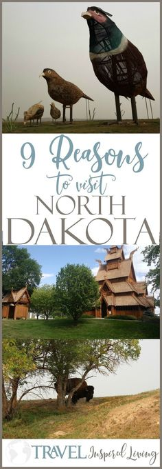 9 reasons to visit north dakota. #NorthDakota #USATravel #RoadTrip #VisitNorthDakota