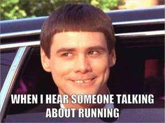 yes. such a secret stalker when i overhear a runner convo