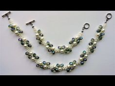 Handmade Jewelry Ideas by using different shapes and colors of beads. - YouTube