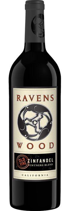 Old Vine Vintner's Blend Zinfandel 2010  I  Ravens Wood  {Not the best Zinfandel--try 7 Deadly Zins--but very good quality for low cost Zin}