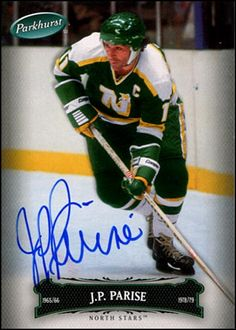 e8f9cdbe1 Minnesota North Stars - JP Parise died 6 January 2015 from lung cancer Wild  Hockey