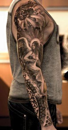 amazing angel tattoo
