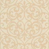 "Found it at Wayfair - Decadence Sonata Ironwork 33' x 20.5"" Scroll Embossed Wallpaper"