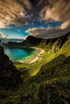 The hidden beach ~ Norway 2014   - Explore the World, one Country at a Time. TravelNerdNici.com