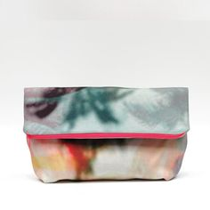 Foldover Clutch Kreta with Photo Print by OPENDAILY on Etsy