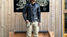 WEST RIDE 15F/W 日本線皮衣 OAK CANYON LEATHER JACKET   – May club