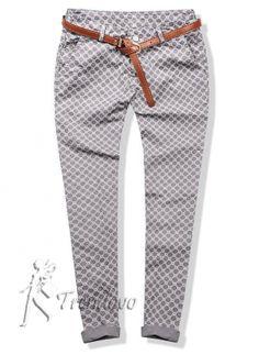 Šedé kalhoty 102-10