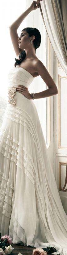 h a i f a ~ Jenny Packham #Bridal #weddings #gowns