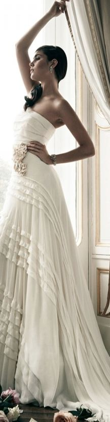 h a i f a ~ Jenny Packham #Bridal #weddings #gowns