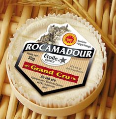 French Cheese Fromage Rocamadour AOP Grand Cru 22%