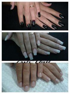 Aplicação de unhas em acrílico!