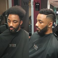 24 Shocking Transformations That Prove A Good Barber Is Basically Like A Plastic Surgeon - - A simple haircut is all it takes. 24 Shocking Transformations That Prove A Good Barber Is Basically Like A Plastic Surgeon Black Men Haircuts, Black Men Hairstyles, Cool Hairstyles, Weave Hairstyles, Men's Haircuts, Hair And Beard Styles, Curly Hair Styles, Natural Hair Styles, Black Hair Cuts