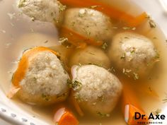 This turkey meatball soup is a favorite at our house. It's delicious, great for your gut and full of healthy vegetables and lean protein. Try this delicious soup recipe today! ***Note: I added kale and lemon zest & juice! Turkey Recipes, Paleo Recipes, Real Food Recipes, Soup Recipes, Cooking Recipes, Passover Recipes, Yummy Food, Protein Recipes, Gluten Free Recipes