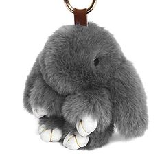 Shop for Yodensity Rabbit Doll Key Chain Fluffy Car Keyring Pendant Handbag Charm Women Bag Decoration. Starting from Compare live & historic luggage prices. Rex Rabbit, Rabbit Fur, Key Decorations, Fur Keychain, Fashion Forever, Dinosaur Stuffed Animal, Winter Hats, Bunny, Plush