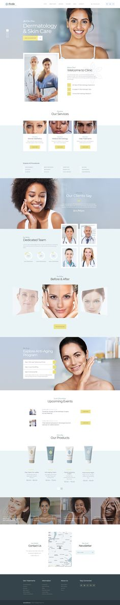 Accalia – ultimate Medical WordPress theme that would match your projects in the field of hopistal, clinic, clinique, ambulance, nursing care, medical institution, medical equipment shop, medical hospice center, infirmary, convalescent home or even sanatoriom health and beauty industry, like dermatology clinic, cosmetology, skin care, hair styling, nails care, plastic surgery, beauty clinic, hairstyling, cosmetic clinic, laser surgery, spa, wellness hospital, massage and beauty care.