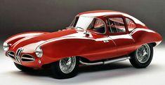 the original 1952 'disco volante' - coupé