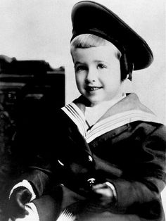 Jimmy Stewart at the age of 4.  I have an early photo of my Dad in a similar outfit.