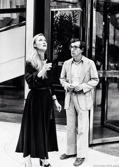 "Meryl & Woody set  ""Manhattan"""