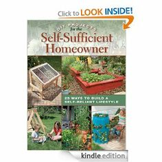 Amazon.com: DIY Projects for the Self-Sufficient Homeowner: 25 Ways to Build a Self-Reliant Lifestyle eBook: Betsy Matheson: Books