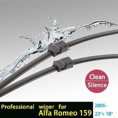 New Wipers Alfa Romeo 166 pair of Windscreen Wiper Blades 98 Vehicle Parts & Accessories Car Parts