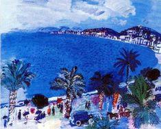 2009/2   Mormoiron    Nice.                                R.Dufy La baie des Anges 1929