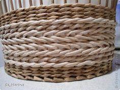 МК косого плетения. | Плетение из газет | Постила