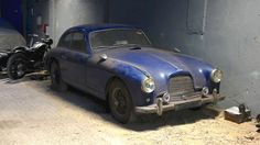 1955 Aston Martin DB2/4 Discovered! - http://barnfinds.com/1955-aston-martin-db24-barn-find/