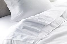 Westin Home Collection - 600 Count Cotton Bedding Set. The Heavenly Bedding Set featuring 100% Egyptian cotton, 600-thread count deep pocket fitted sheet, decorative flat middle sheet, top flat sheet, and pillow case pairs trimmed with decorative piping. Crafted in Italy.