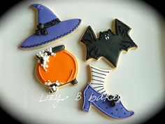 Halloween cookies are always my favorite to make.  These are cute!