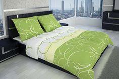 Vedeli ste, že zelená farba ukľudňuje? Obzvlášť z toho dôvodu sú zelené posteľné obliečky vhodné do spálne.