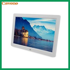"10"" 12"" 15"" inch Digital Photo Frame Electronic Picture Porta Retrato Marco De Fotos Digital MP3 Living Room Bedroom Wall Home"