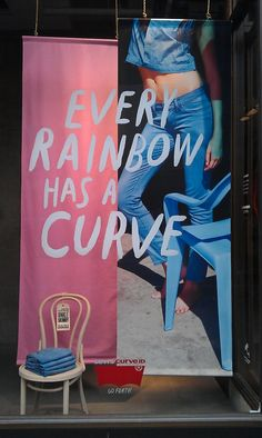 A love of Visual Merchandising: Levis go over the rainbow